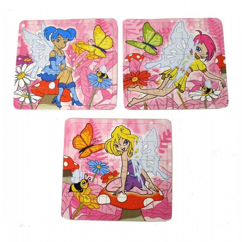 Fairy 25 Piece Mini Jigsaw Puzzle - Faeries Girls Party Bag Fillers